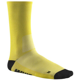 Mavic Essential Calcetines de corte alto, yellow